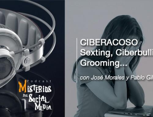 Ciberacoso: Sexting, Ciberbulling, Grooming con Pablo Gil y José Morales