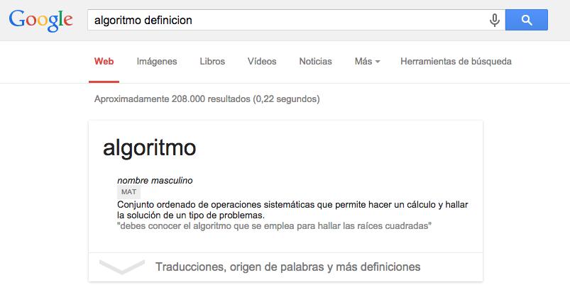 Busqueda por definicion